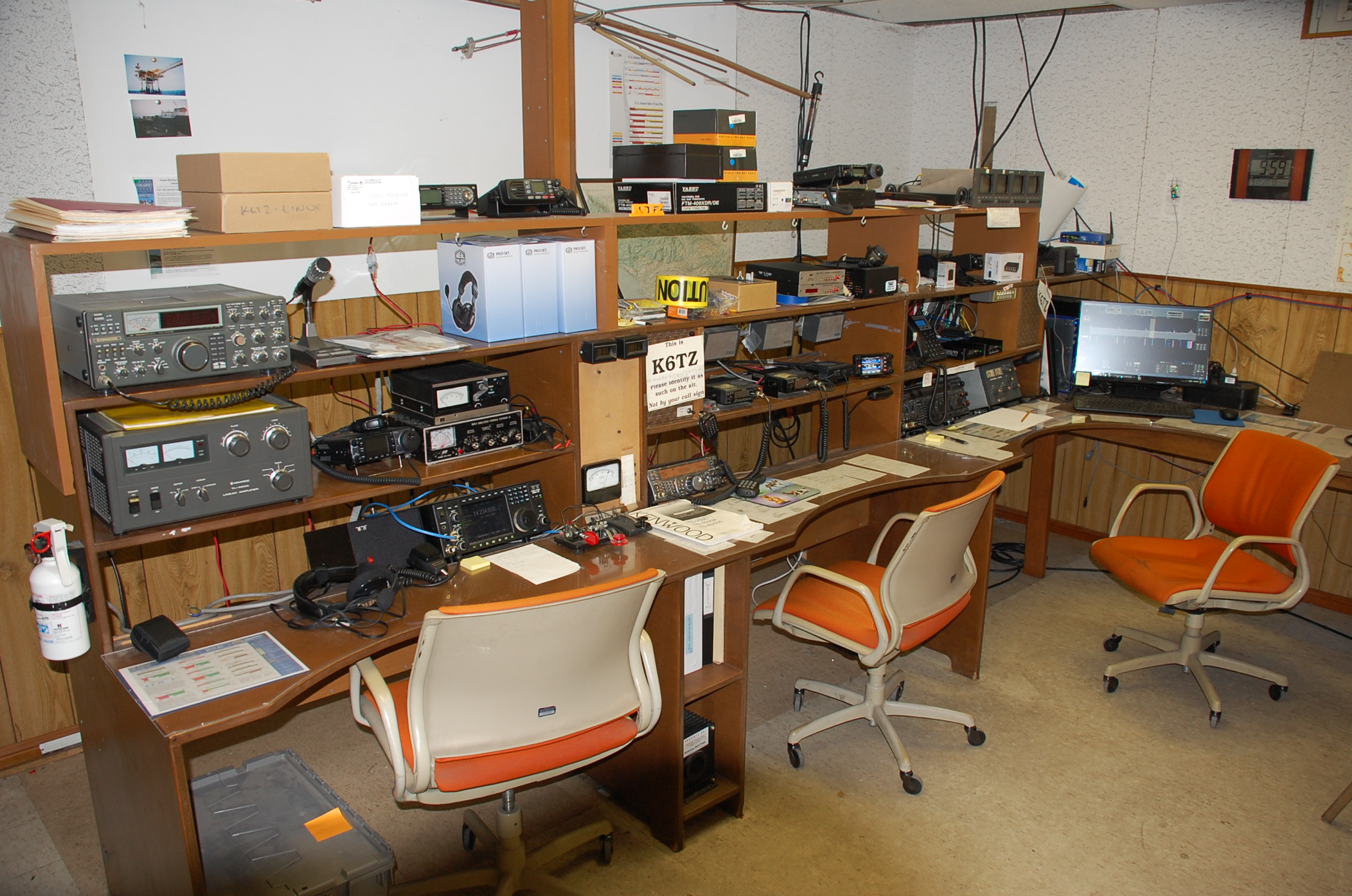 club station | santa barbara amateur radio club